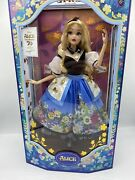 Disney Alice In Wonderland By Mary Blair Limited Edition Doll - Mint New In Box