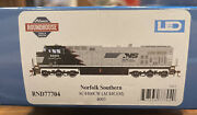 Athearn Roundhouse Ho Scale Ac44c6m Locomotive Dcc Ready Norfolk Southern 4003