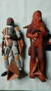Star Wars Applause Figures Boba Fett And Chewbacca