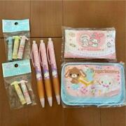 Sanrio 7 Set Lot Pen Cap Sugarbunnies Kitty From Japan Tracking Number