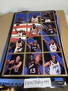 Rare Vintage 1995 Olympic Basketball Dream Team 2 Poster Costco 23x35 1019a