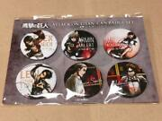 Attack On Titan Anime Japan Can Badge Set From Japan