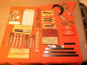 Large Lot Of Starrett Co. And Other Brand Name Machinists Tools-must See