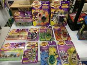 Mighty Max Vintage Lot Of 11 Figures Mattel Shrunken Heads And More