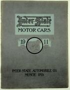 Inter-state Automobile Co / Inter-state Motor Cars 1911 Bull Dogs 1st Edition