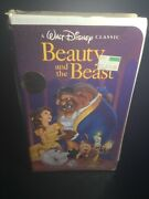 Beauty And The Beast Vhs, 1992, Black Diamond Factory Sealed Discontinued