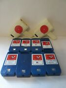 Disney Action Loop With 8 Cartridges Vintage Lot Disney Mickey Bambi Cats Rare
