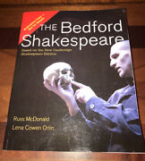 The Bedford Shakespeare Mcdonald 9780312439637 Evaluation Copy Free Shipping