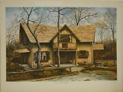 C.g. Morehead Ray Harmand039s Home 18x24 Limited Edition Building