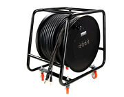 150and039 Rj45 Tactical Shielded Ethernet Super Cat6 Quad Solid-conductor Reel Snake