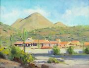 Russell Case Utb 1966 Oil Painting