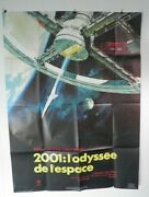 2001 A Space Odyssey Large French Poster Original 47 By63 Rr80' Stanley Kubrick