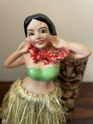 Occupied Japan Hula Girl Doll Figure Statues Vintage Condition Good Used Rare