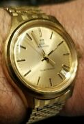 Zenith Movado Electronic Tuning Fork Esa 9162 Mens Watch Serviced