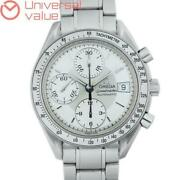 Omega 3513.30 Speedmaster Date Automatic Winding Stainless Menand039s Watch [u0928]