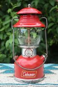 Coleman The Sunshine Of The Night Red 200a Lantern 1959