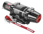 Warn 101040 Vrx 4500-s Winch With Synthetic Rope
