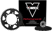 Vortex 520 Sx3 Chain And Sprocket Kit With Front And Rear Sprockets Ck4259