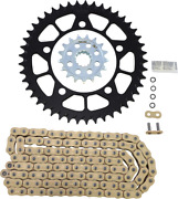 Vortex O-ring Chain And Sprocket Kit With Front And Rear Sprockets Ckg7617