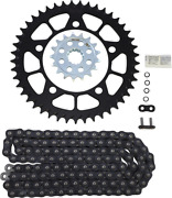 Vortex O-ring Chain And Sprocket Kit With Front And Rear Sprockets Ck7617