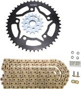Vortex O-ring Chain And Sprocket Kit With Front And Rear Sprockets Ckg7616