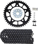 Vortex O-ring Chain And Sprocket Kit With Front And Rear Sprockets Ck7611