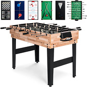 Best Choice Products Game Table Set 2x4ft 10-in-1 Combo For Home Game Room