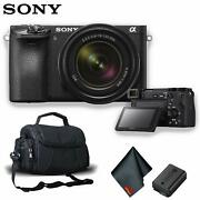 Sony Alpha A6500 Mirrorless Digital Camera With 18-135mm Lens And Carry Case