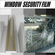 2mil/4mil/8mil/12mil Safety Window Film House/bank Anti-shatter Glass Stick100ft
