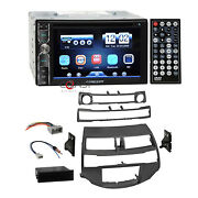 Concept Dvd Usb Bluetooth Stereo Taupe Dash Kit Harness For 2008+ Honda Accord
