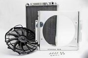 Afco Dragster Radiator W/ Fan And Shroud 80108n