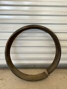 Original 1935 1936 Ford Spare Tire Wheel Cover Great Patina