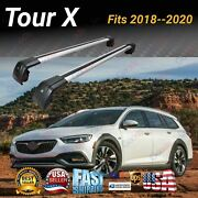 Fits Regal Tour X 18-20 Suv Top Roof Rack Cross Bar Baggage Luggage Carrier Bar
