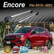 Fits Buick Encore 2013-21silver Roof Rack Cross Bar Baggage Luggage Carrier Bar