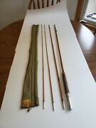 Vintage South Bend 58 9' Bamboo Fly Fishing Rod See Pictures And Description