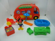 Fisher Price Disney 10pc Mickey Mouse Clubhouse Camping Set Camper Playset