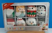 Squishmallows Classic Holiday Squad Ornament Set Canadian Exclusive Winter 2021