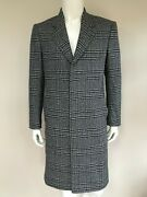 Paul Smith Mainline Of Wales Check Coat 38r Retail Andpound975 Made In Italy