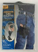 Law Enforcement Leg Holster Adult Halloween Costume Accessory One Size Fits Most