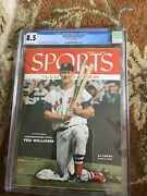 Sports Illustrated 1955 Ted Williams Cgc 8.5