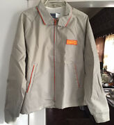 Vtg Swingster Trucker Jacket Farm Seed Patch Garst Agriculture Ag Usa Xl Rare
