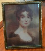 Rare Jay Strongwater Laetitia Tuilleries Crystal Edge Ombre Enamel 8x10 Frame