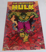 Lot Of 3 The Incredible Hulk Posters From 1987 Marvel Comics Vintage And Rare