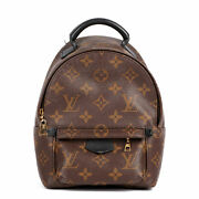 Louis Vuitton Brown Monogram Coated Canvas And Black Calfskin Leather Mini...