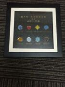 Used Pokemon Pocket Monster Johto Gym Badge Collection Complete Set Limited Pins