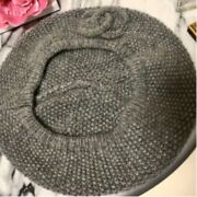 Used No Box Very Rare Hat Beret Coco Mark Made In Italy Cute