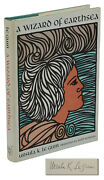 A Wizard Of Earthsea Signed By Ursula K. Le Guin First Edition Early Print 1968