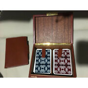 Unused Authentic Hermes Vintage Playing Cards Trump Case Set Deadstock