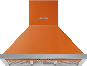 Smeg Portofino Series 30-inch Wall Mount Ducted Chimney Hood With 600 Cfm Recir