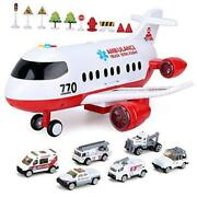 Airplane Toy, Kids Plane With Light And Sound For 3 4 5 6 7 Year Old Boys